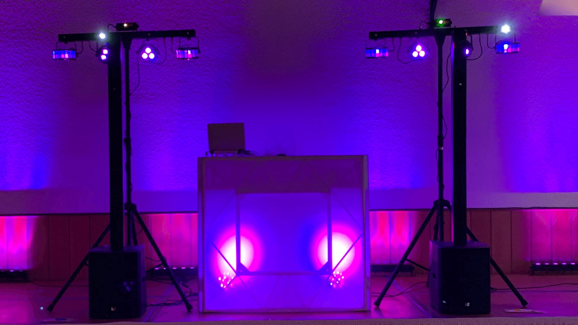 DJ MI-SEVEN Setup Aufbau Bigroom Technikpaket